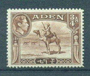 Aden sc# 17 (2) mh cat value $1.75