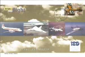 100 Years Of Flight First Day Cover - Albatros D.II - 2004 Liberia Z5507