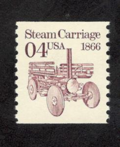 2451 Steam Carriage US Single Mint/nh (Free Shipping)