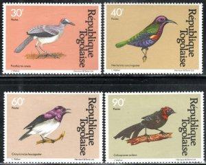 Togo 1107-10 - Mint-LH - Small Birds (Short) (1981) (cv $4.20)