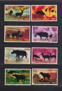 Thailand 686-693 Set MNH Animals