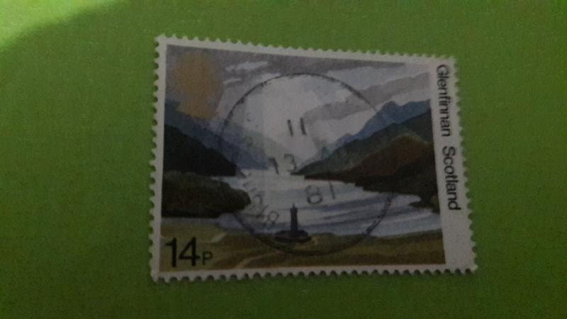 GREAT BRİTAİN USED STAMP -