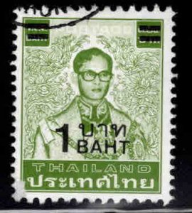 THAILAND Scott 1223 Used surcharged stamp