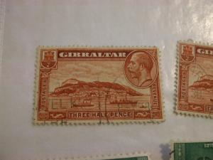 Gibraltar #97 used (reference 1/2/4/1)