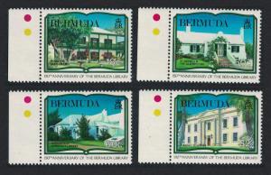 Bermuda 150th Anniversary of Bermuda Library 4v SG#599-602