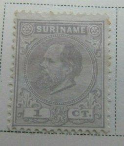 Surinam 1885 1c Fine MNG A13P9F935