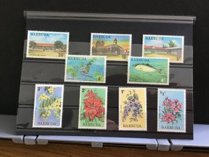 Barbuda Buildings Fish and Plants mint never hinged   stamps R31793