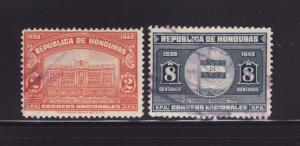 Honduras 337, 340 U Various (E)