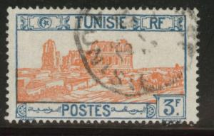 Tunis Tunisia Scott 107 used 1926 stamp