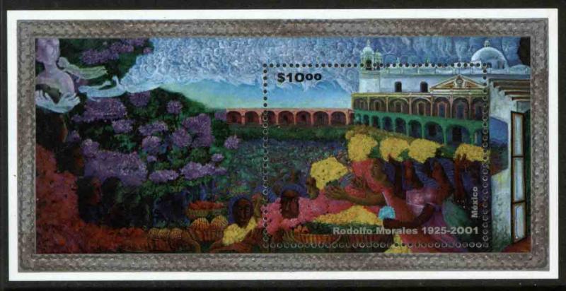 MEXICO 2232, In Memoriam Rodolfo Morales, Painter. MINT, NH. F-VF.