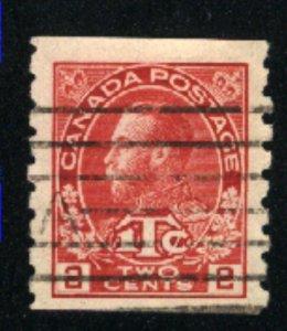 Canada #MR6    u    1916 PD