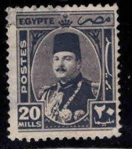 Egypt Scott 250 Used  thinned stamp