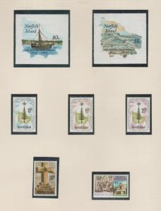 NORFOLK ISLAND  1975 - 1977
