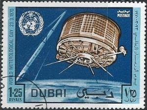 Dubai 123 (used cto) 1.25r World Meteorological Day