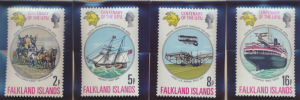 Falkland Islands Stamps Scott #231 To 234, Mint Never Hinged - Free U.S. Ship...