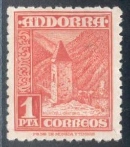 Andorra (Spanish) ~ #46 ~ Chapel of Meritxell ~ MHH