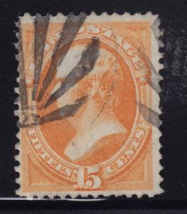 152 F-VF used neat cancel sound with nice color cv $ 220 ! see pic !