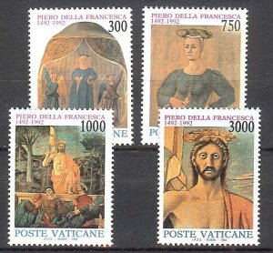 1992 - Vatican # 904-907 - Mint VF/NH