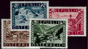 Austria #496-499 Mint F-VF SC$65.00...Such a Deal!