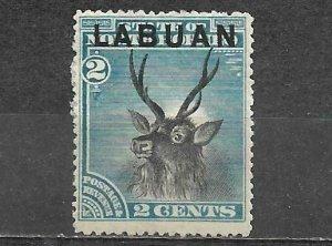 Labuan Stamp Mint 3c Malayan Sambar
