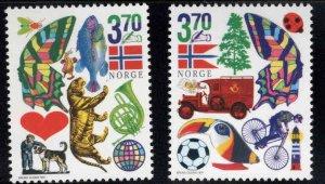 Norway Scott 1172-1173 MNH** set