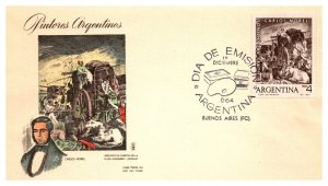 Argentina, Worldwide First Day Cover, Art