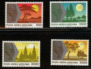 Vatican City Sc# C88-C91 MNH Complete Set - Journeys of Pope John Paul II