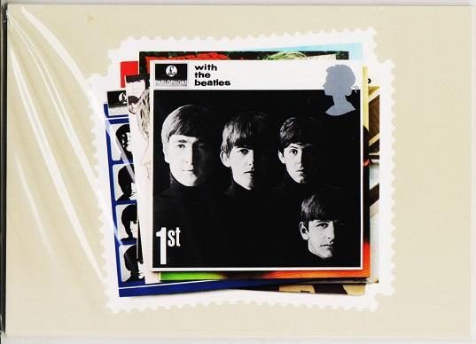 Great Britain. 2007 The Beatles. PHQ Cards(6) Unused