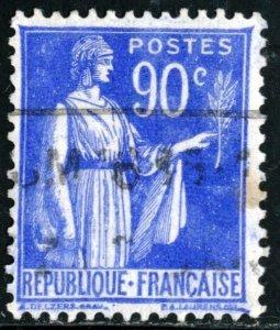 FRANCE #276 , USED - 1938 - FRAN221AFF8