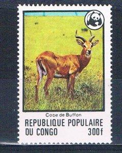 Congo PR 458 MNH Antelope 1978 (MV0333)+