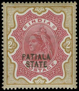 India / Patiala Scott 23 Gibbons 29 Mint Stamp