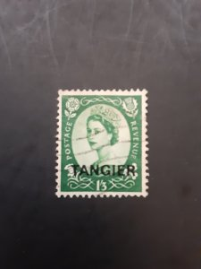 +Great Britain (Morocco:Tangiers) #574             Used