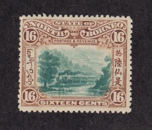North Borneo Scott # 121 VF OG mint previously hinged cv $ 150 ! see pic !