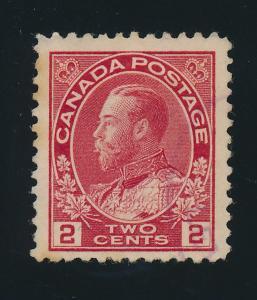 Canada Stamp Scott #106, Used - Free U.S. Shipping, Free Worldwide Shipping O...