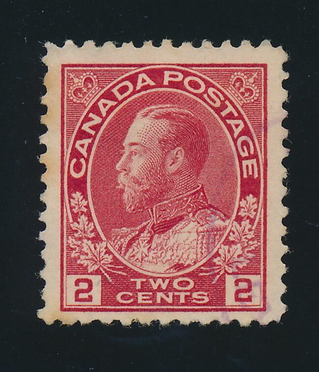 Canada Stamp Scott #106, Used - Free U.S. Shipping, Free Worldwide Shipping O...