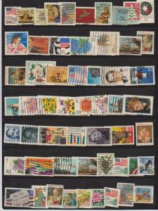 LOT OF DIFFERENT STAMPS OF USA USED (58) LOT#615