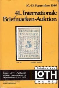 41. Loth-Briefmarken-Auktion: Internationale Briefmarkena...