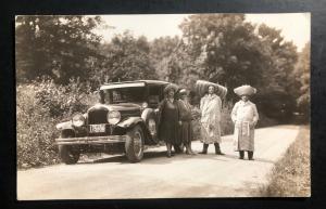 1928 Zaragoza BC Mexico RPPC Postcard Cover To Pittsfield Ma USA Hot Tamale !