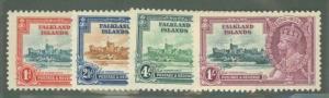 Falkland Islands 77-80 Mint VF NH