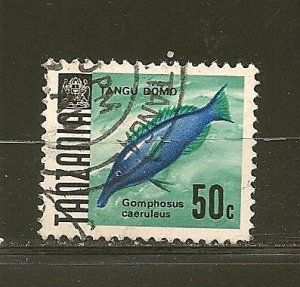 Tanzania 25 Bird Fish Used