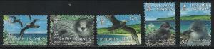 Pitcairn Islands SC604-608 Birds In Flight & Nesting MNH 2004