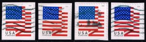 US #5260-5263 Flags Set of 4; Used (1.00)
