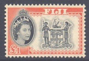 Fiji Scott 175 - SG310, 1959 Elizabeth II £1 MNH**