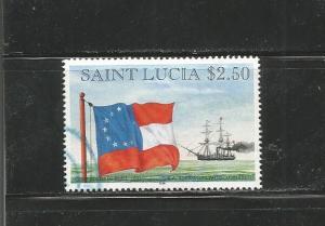 #1057 Confederate, 1861, CSA steam/sail armed cruiser
