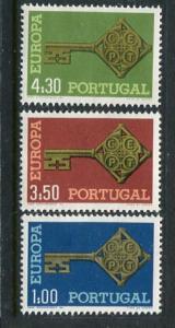 Portugal #1019-21 Mint