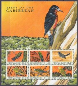 2000 Grenada Grenadines 3077-3082KL Birds 9,00 €