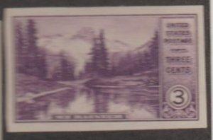 U.S. Scott #750 Mt Rainier National Park Stamp - Mint Single
