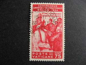 Vatican City, Sc 44 used, nice stamp, check it out!