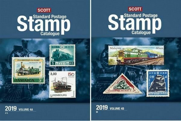 2019 Scott Standard Postage Stamp Catalogue, Volume 4 (Countries J-M)
