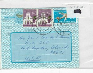 South Africa Stamps Cover airmail Ref 8813